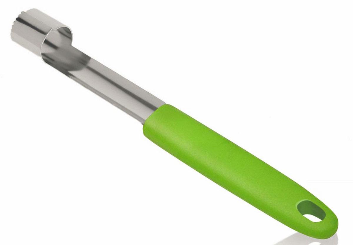 Нож для удаления сердцевины Ругес Семечко, цвет: светло-зеленый, серый металлик ruges набор для удаления акне и чистки пор косметик