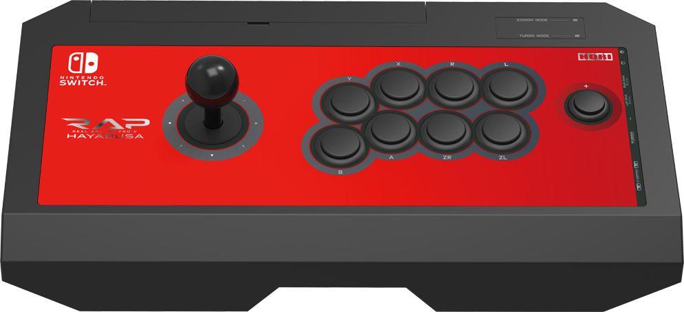 Hori Pro.V Hayabusa, Red джойстик для Nintendo Switch (NSW-006U) new nintendo 2ds xl animal crossing edition gray портативная игровая приставка