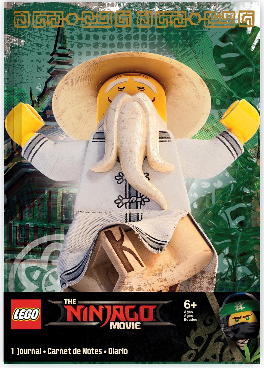 LEGO NINJAGO Блокнот Sensei Wu 96 листов в линейку цена и фото