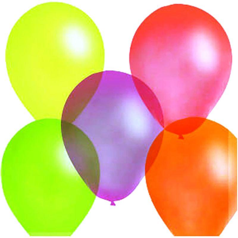 Шарик воздушный Флуоресцентный 100 шт шарик воздушный декоратор transparent 057 100 шт