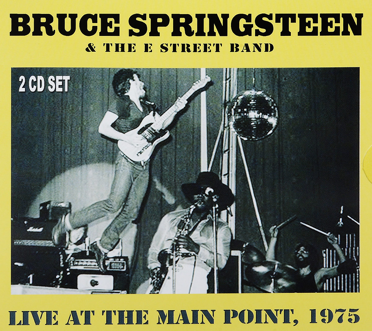 Брюс Спрингстин Bruce Springsteen. Live At The Main Point 1975 (2 CD) bruce foxton live at the camden palace