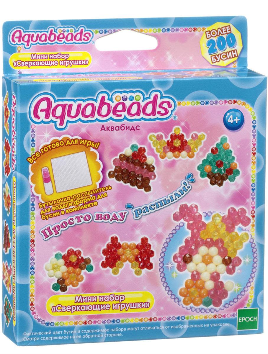 Aquabeads Мини-набор Сверкающие игрушки aquabeads веселые игрушки многоцветный