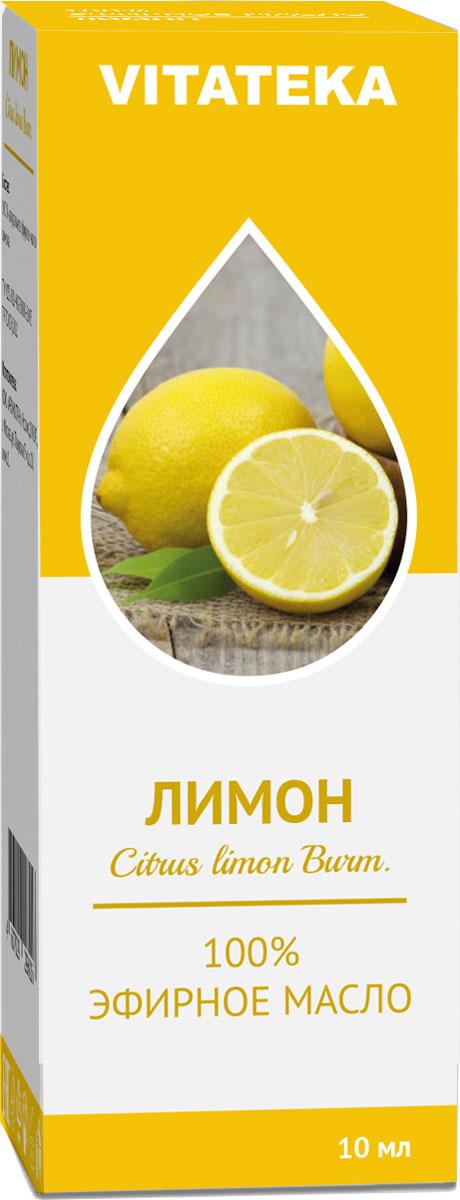 Масло эфирное Витатека, лимон, 10 мл лимон масло эфирное 10мл
