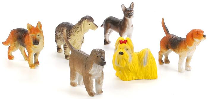 Играем вместе Набор фигурок Собаки 6 шт набор фигурок играем вместе набор из 12 и змей 14 см