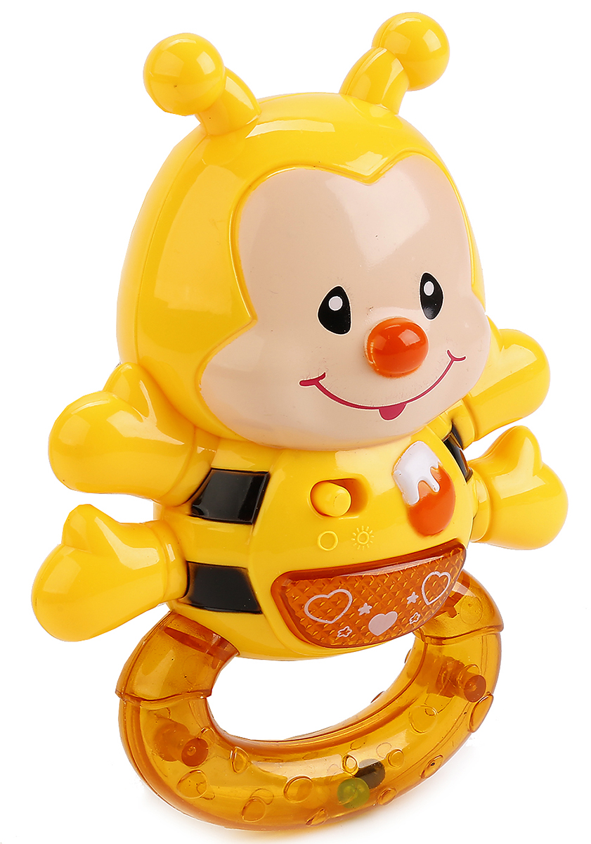 Умка Погремушка музыкальная Пчелка умка погремушка на подвеске музыкальная умка