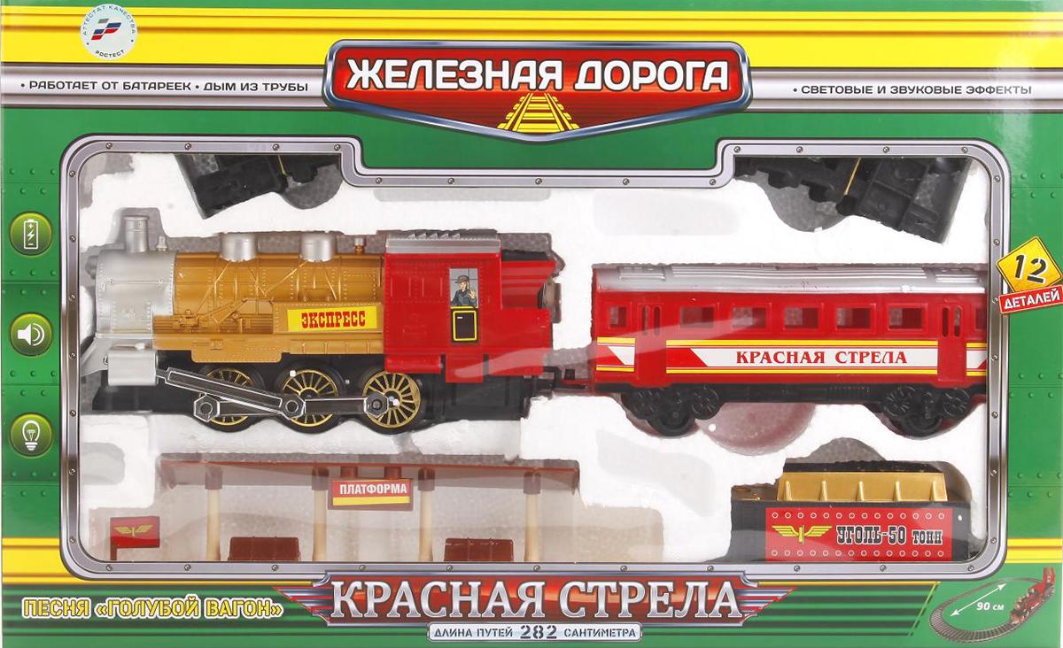 Железная дорога Играем вместе B869766-R красный, черный железная дорога играем вместе железная дорога заводная фиксики с 3 х лет b1279625 r