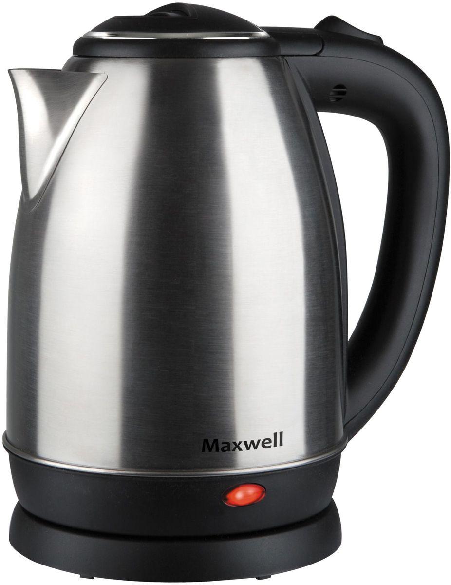 Электрический чайник Maxwell MW-1081(ST), Gray Metallic цены