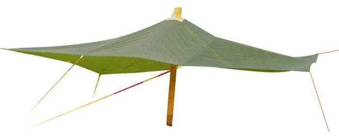 Тент Red Fox, цвет: зеленый, 8 х 6 м