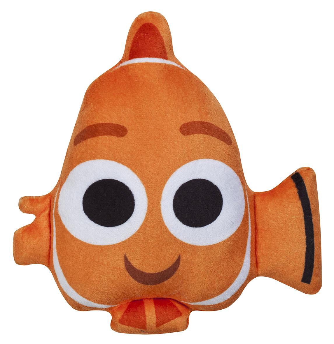 Disney Мягкая игрушка Finding Dory Немо15983Детская декоративная подушка Немо может быть использована в доме для отдыха и сна, а также и для игр вашего ребенка. Она прекрасно украсит детскую спальню, благодаря яркому внешнему виду, а ребенок всегда придумает с ней сюжетно-ролевую игру. Данная продукция уже давно зарекомендовала себя, как качественная и безопасная.