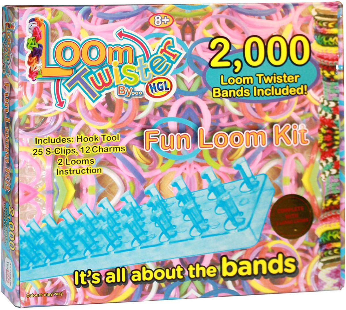 Loom Twister Набор для плетения SV11755 набор цветных резинок для плетения фенечек loom twister sv11617