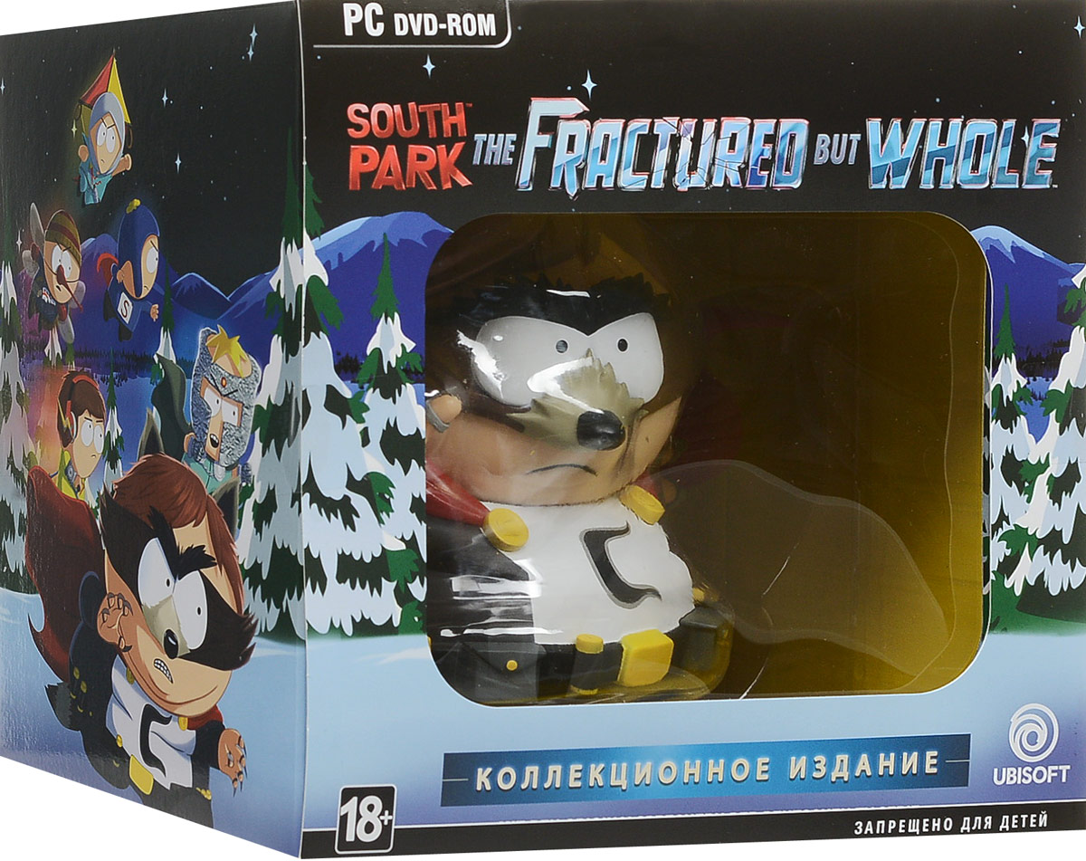 купить South Park: The Fractured but Whole. Коллекционное издание по цене 3751 рублей