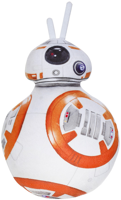 StarWars Мягкая игрушка Дроид BB-8 [bainily]star wars rc bb 8 robot starwars 2 4g remote control bb8 robot intelligent small ball action figure toys christmas gift