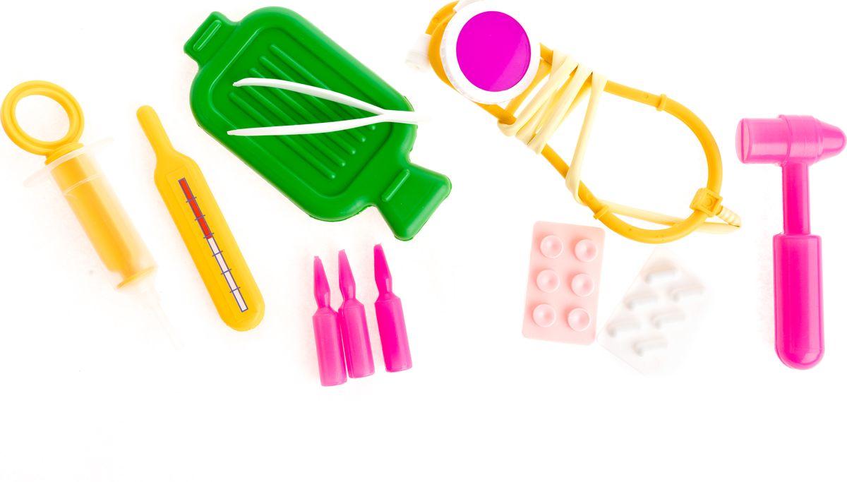 Фото - Пластмастер Игровой набор Врач пластмастер игровой набор витаминчик цвет оранжевый сиреневый