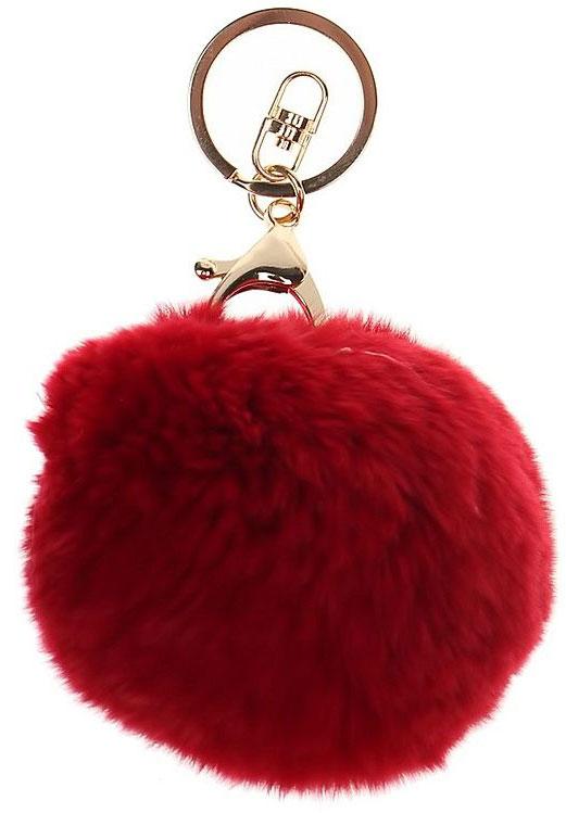 Vebtoy Брелок-игрушка Пушистый Брелок-игрушка цвет красный vebtoy брелок игрушка пушистый кролик цвет красный 22 х 16 х 9 см
