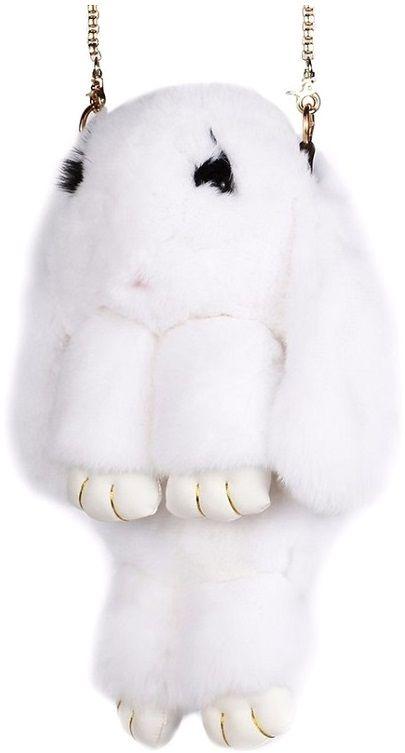 Vebtoy Рюкзак дошкольный Пушистый кролик цвет белый