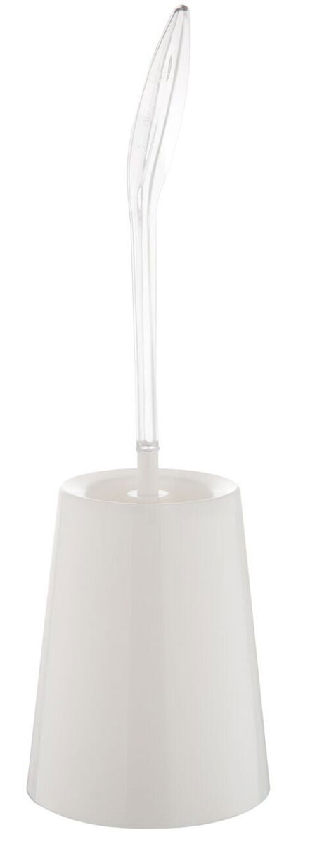Ершик для унитаза Berossi ECO, с подставкой, цвет: снежно-белый, 15,7 х 47, 5 см ершик для унитаза berossi eco с подставкой цвет снежно белый 15 7 х 47 5 см