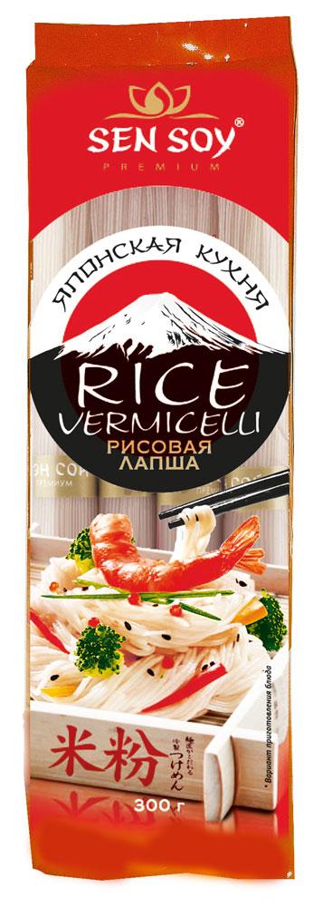 Sen Soy Лапша рисовая Rice Vermicelli, 300 г sen soy tempura японская панировочная мука 150 г