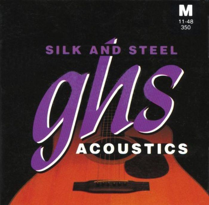 GHS DNT-24758 cтруны для акустической гитары цена