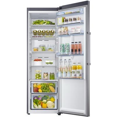 Однокамерный холодильник Samsung RR 39 M 7140 SA/WTRR39M7140SA/WTГабариты (вхшхг) (см): 185,3х59,5х64,4 Объем холодильной камеры (л): 394 Цвет: серебристый Metal Graphite Гарантия: 1 год Страна-производитель: Вьетнам Крупногабаритный товар.