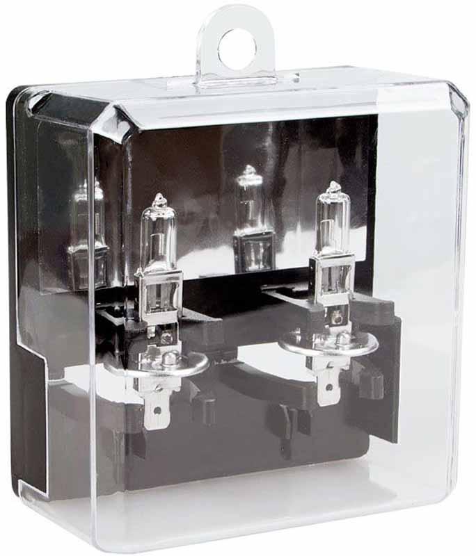 Лампа автомобильная галогенная Kraft Pro Long Life, H1, 12V, 55W (P14,5s), 2 шт
