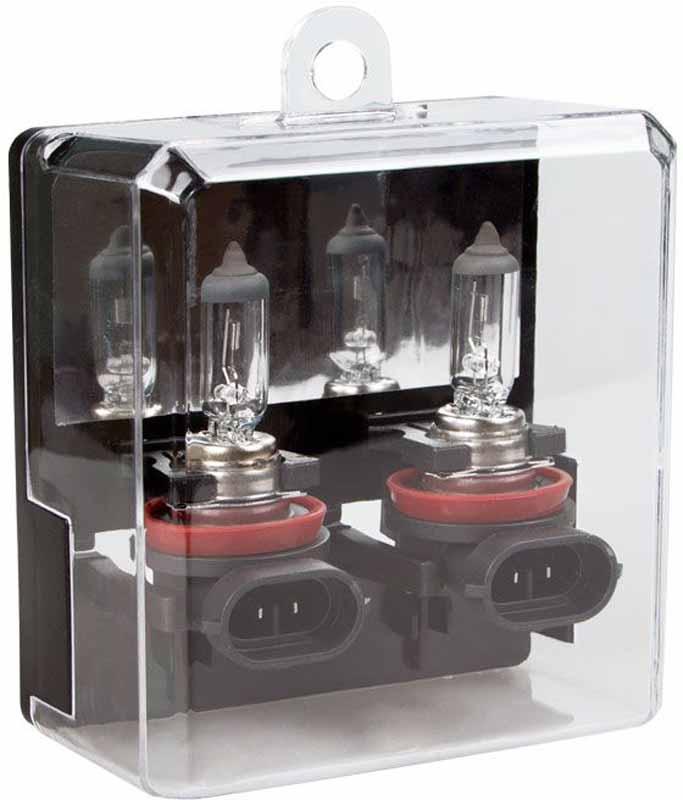 """Лампа автомобильная галогенная Kraft """"Pro Long Life"""", H11(PGJ19-2), 12V, 55W, 2 шт"""