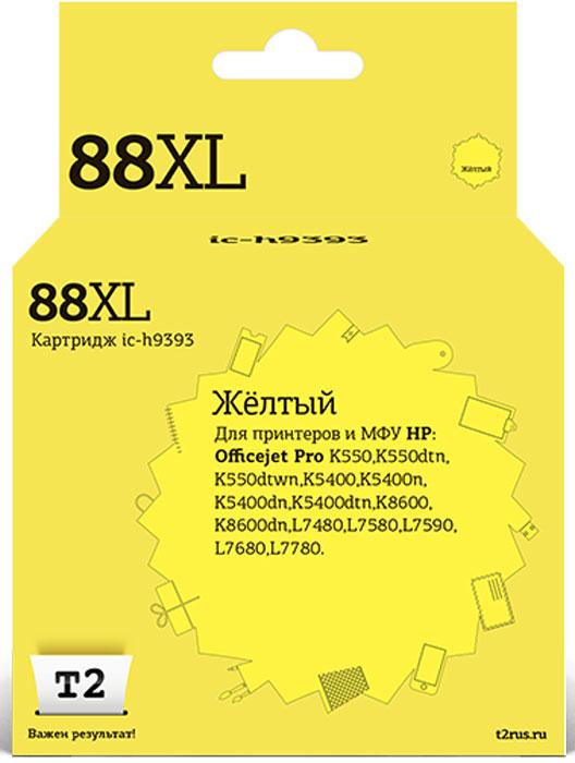 Картридж T2 IC-H9393, желтый, для струйного принтера картридж t2 c9393ae ic h9393