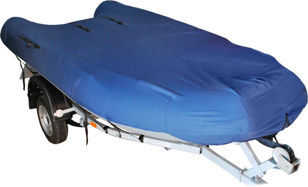 Чехол AG-brand, для транспортировки лодок ПВХ 370, цвет: темно-синий