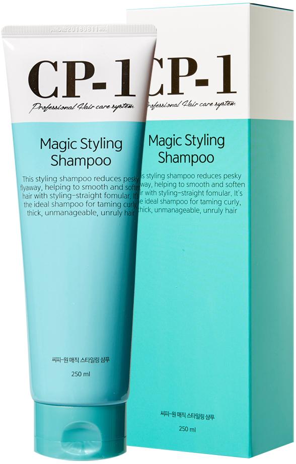 Esthetic House Шампунь для непослушных волос CP-1 Magic Styling Shampoo, 250 мл для волос желток или белок
