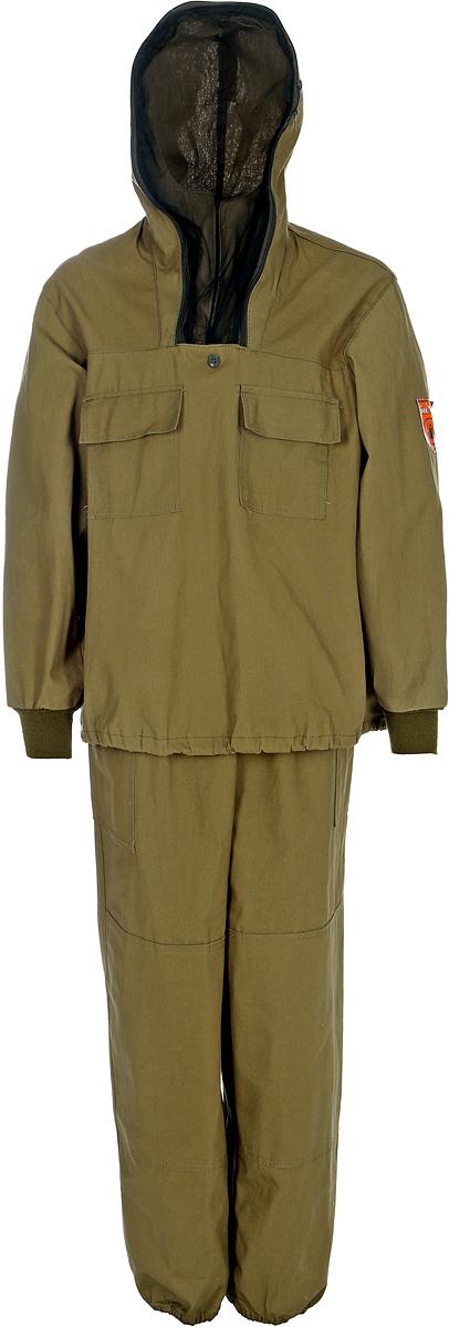 Костюм мужской Стоик Противоэнцефалитный, цвет: хаки. 55713. Размер 48/50-182/188