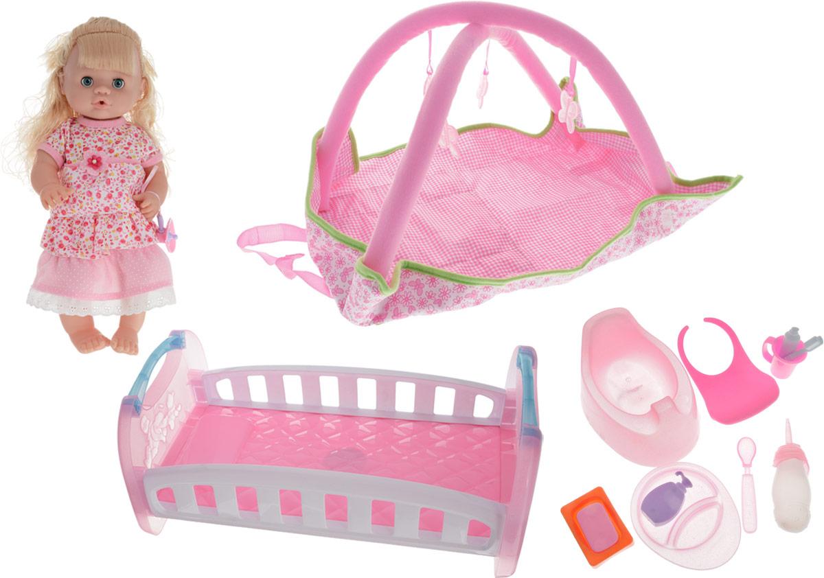 Yako Кукла цвет платья розовый с аксессуарами кукла yako m6579 6