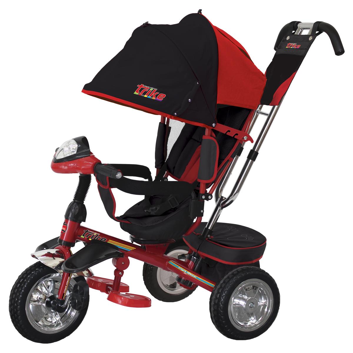 TRIKE Велосипед трехколесный цвет красный T4R