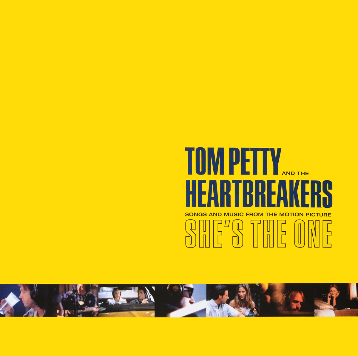 Tom Petty And The Heartbreakers Tom Petty & Heartbreakers. Songs And Music From The Motion Picture She's The One (LP) tom petty tom petty heartbreakers into the great wide open