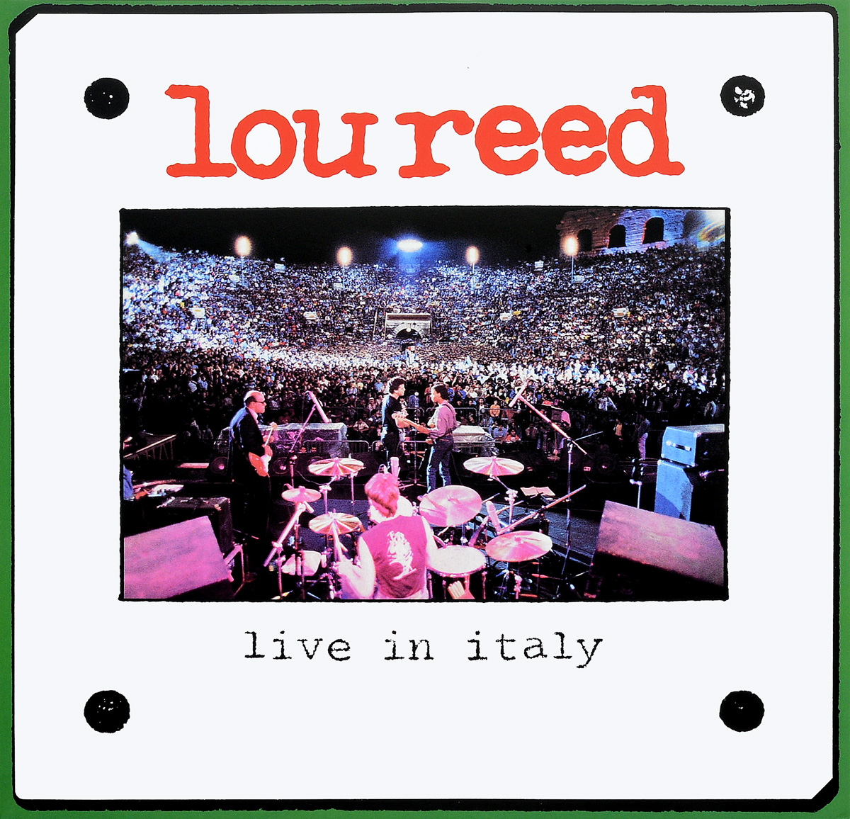 Лу Рид Lou Reed. Live In Italy (2 LP) лу рид lou reed live in concert
