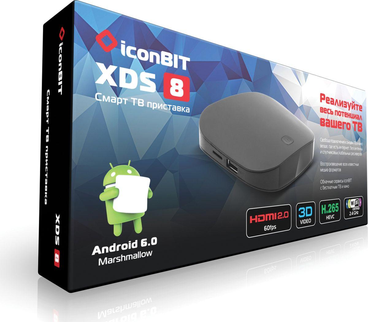 Медиаплеер Iconbit XDS8, Black IconBIT