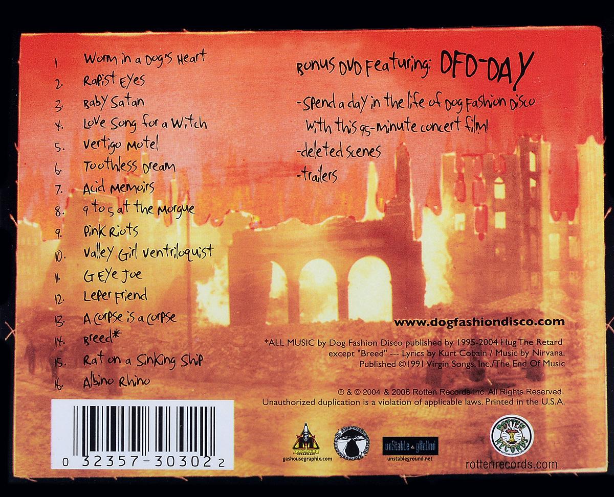 Dog Fashion Disco. The City Is Alive Tonight (2 CD)