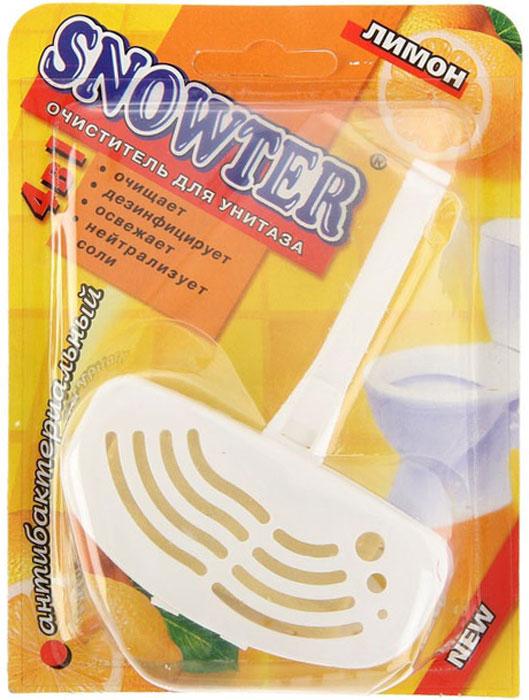 Очиститель для унитаза Snowter, лимон, 40 г цена