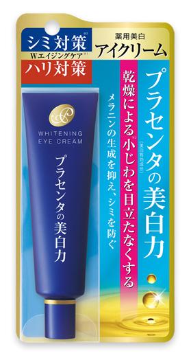Крем для ухода за кожей MEISHOKU / Крем для кожи вокруг глаз, с экстрактом плаценты, с отбеливающим эффектом, 30 г, арт.  236037 Meishoku