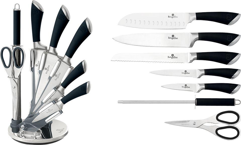 """Набор ножей Berlinger Haus """"Infinity Line"""", на подставке, 8 предметов. 2042-BH"""