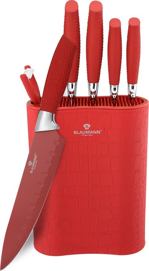"Набор ножей Blaumann ""Crocodile Line"", на подставке, 7 предметов. 2074-BL"