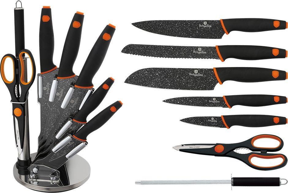 "Набор ножей Berlinger Haus ""Granit Diamond Line"", на подставке, 8 предметов. 2117-BH"