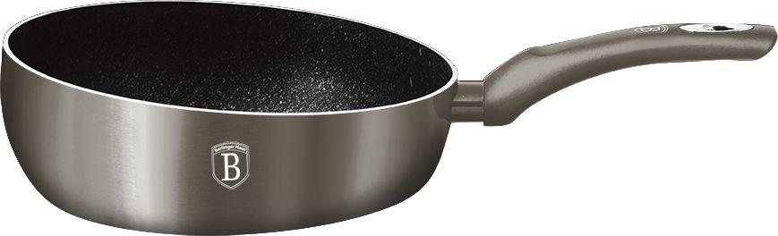 Флип сковорода Berlinger Haus Carbon Metallic Line, диаметр 26 см. 1300-BH подставка д чашек berlinger haus carbon metallic passion collection 33см нерж сталь карбон
