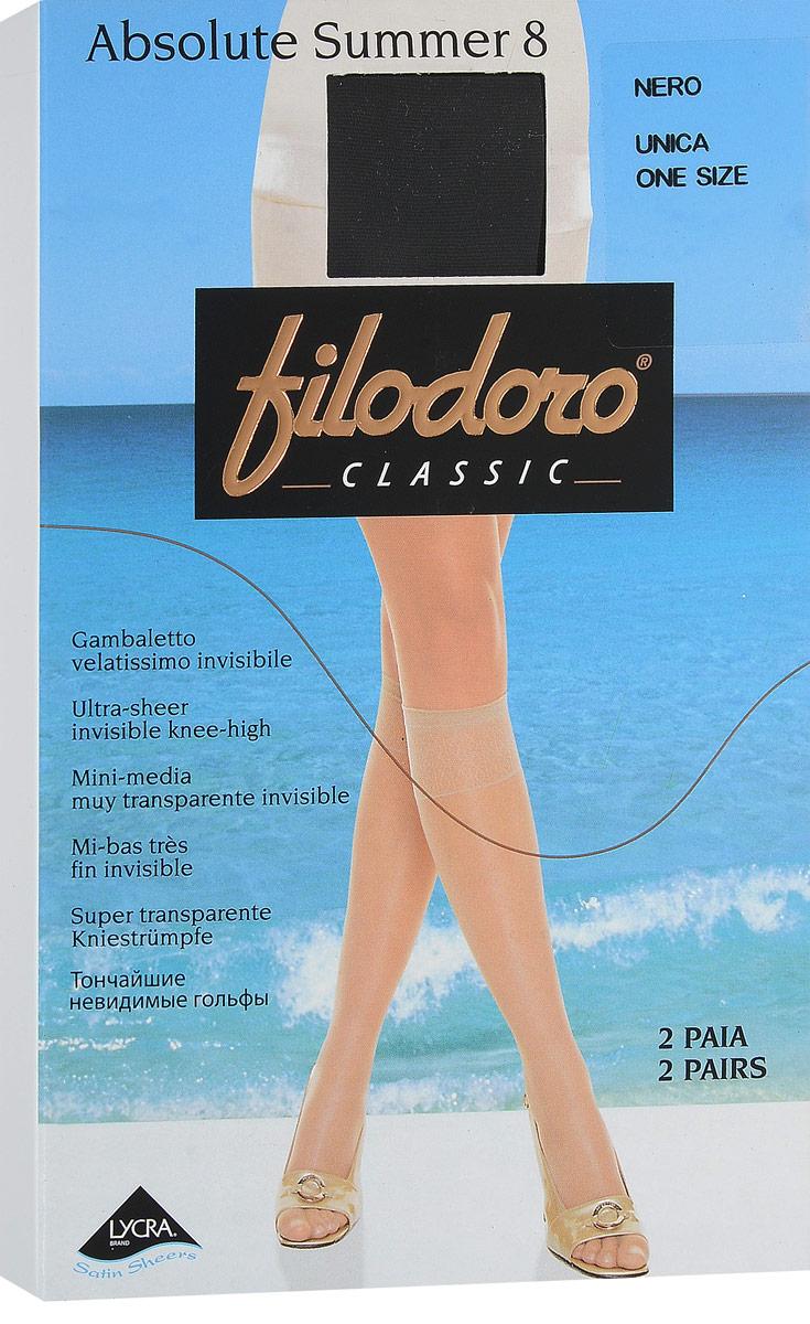 Гольфы Filodoro Classic гольфы женские filodoro classic first 40 цвет cognac загар c110309fc размер 1 2 s m
