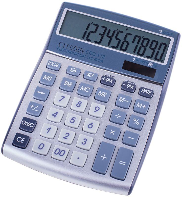 Citizen Настольный калькулятор CDC-112WB