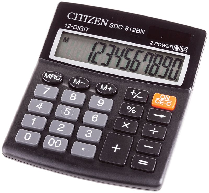 Citizen Настольный калькулятор SDC-812BN