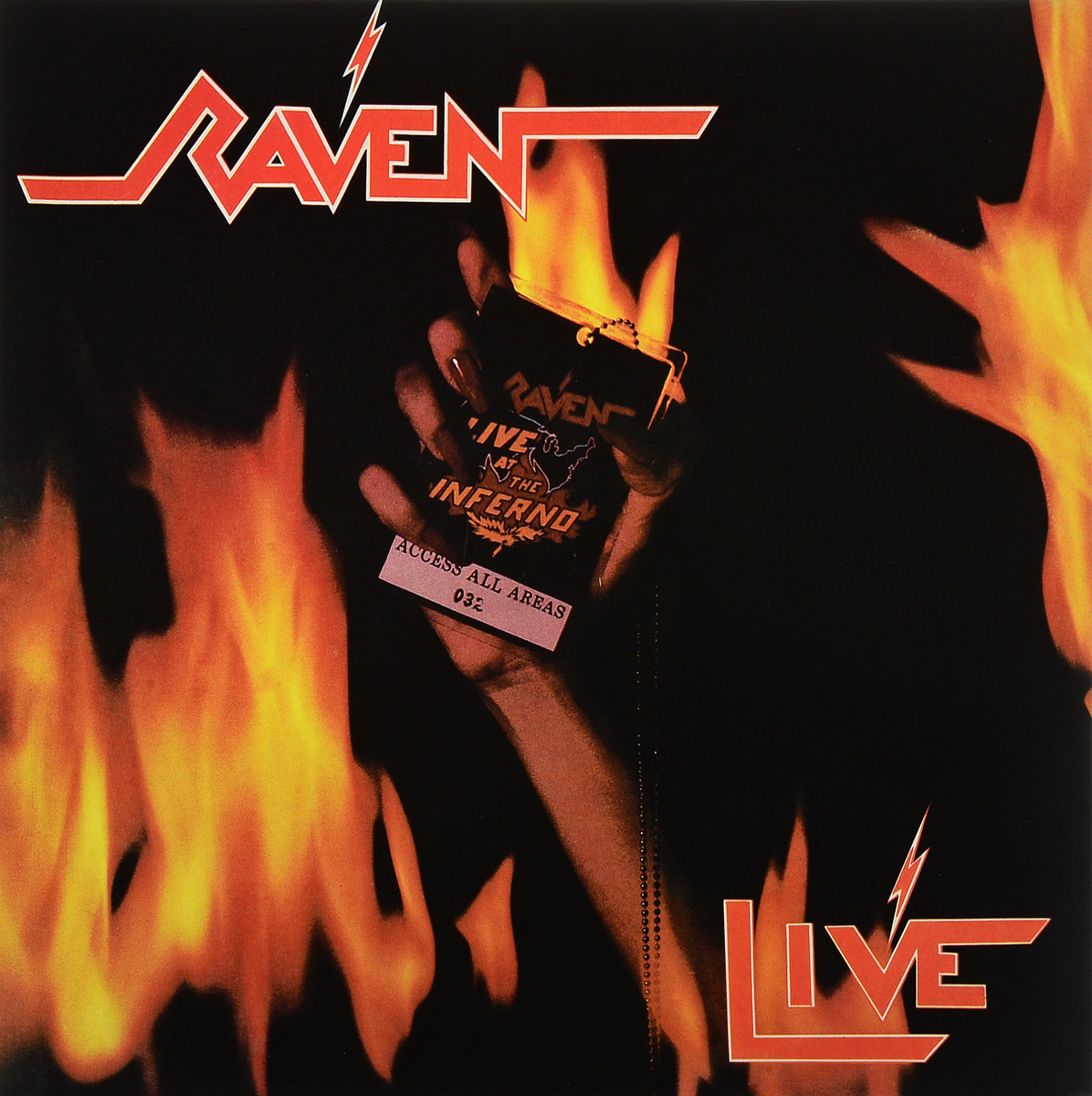 цена на Raven Raven. Live At The Inferno (2 LP)
