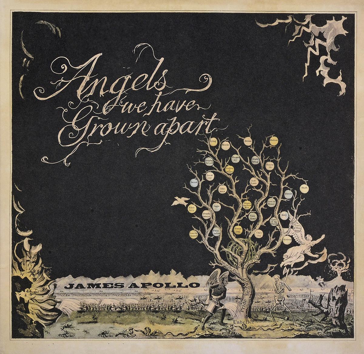 James Apollo. Angels We Have Grown Apart (LP)
