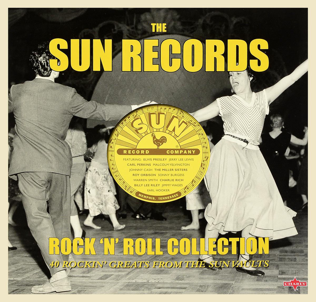 Элвис Пресли,Рой Орбисон,Карл Перкинс Sun Records - Rock'n'Roll Collection (2 LP) рой орбисон хэнк уильямс старший roy orbison the mgm years 13 cd