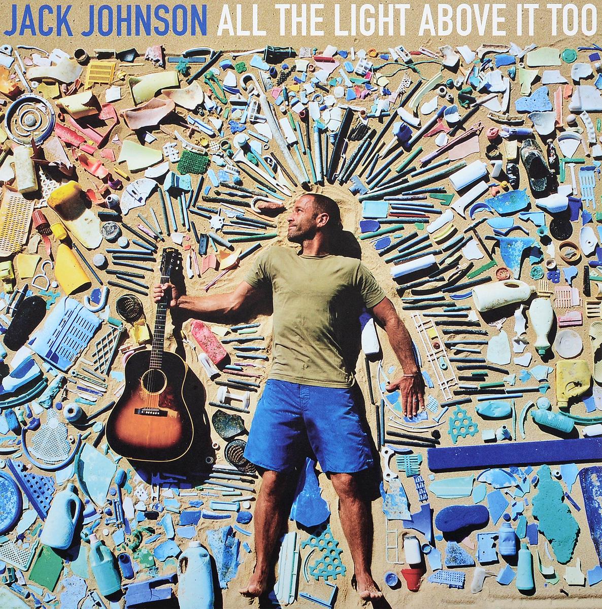 лучшая цена Джек Джонсон Jack Johnson. All The Light Above It Too (LP)