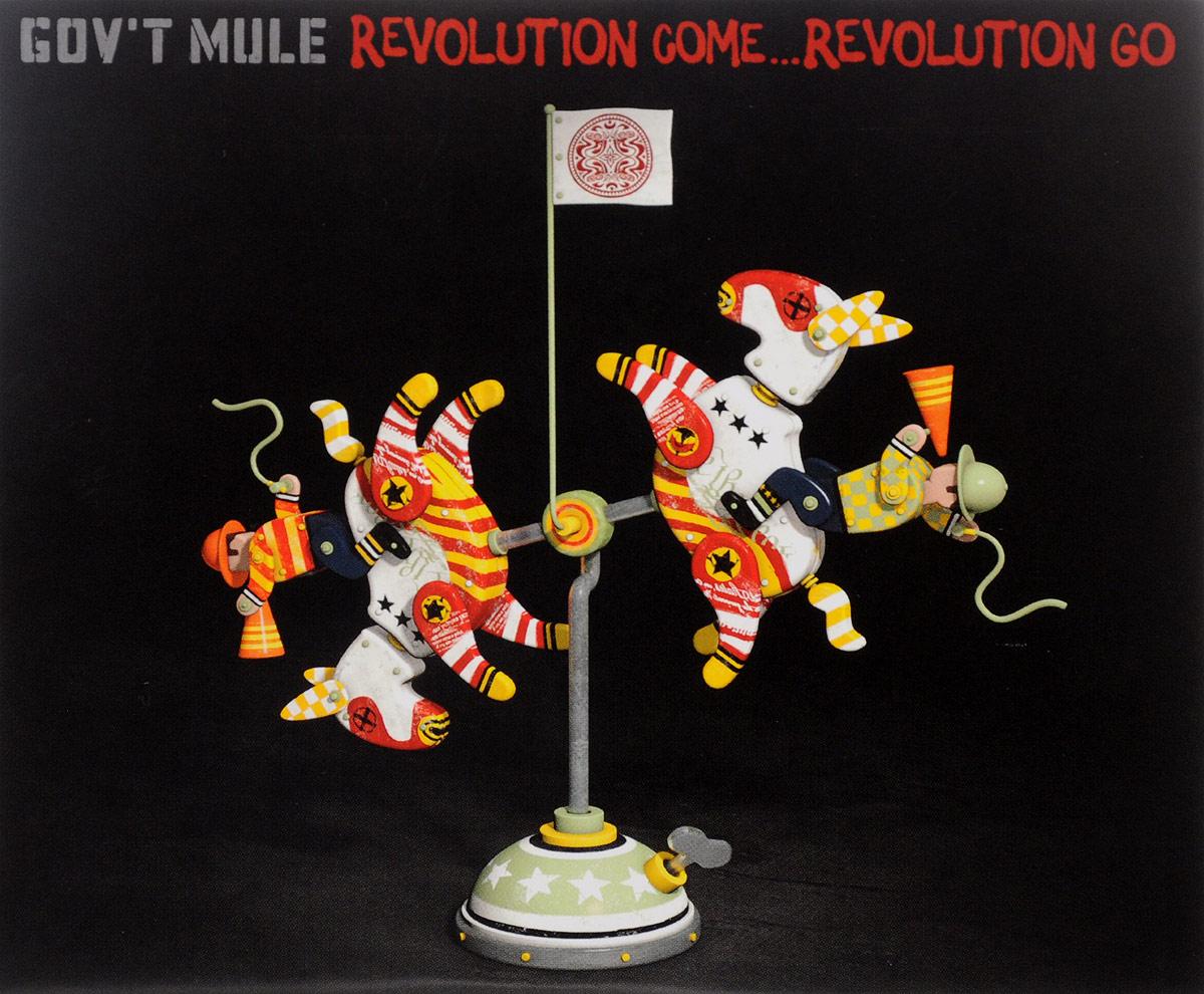 Gov't Mule,Джимми Воэн Gov't Mule. Revolution Come… Revolution Go. Deluxe Edition (2 CD) fink sort of revolution фирм cd