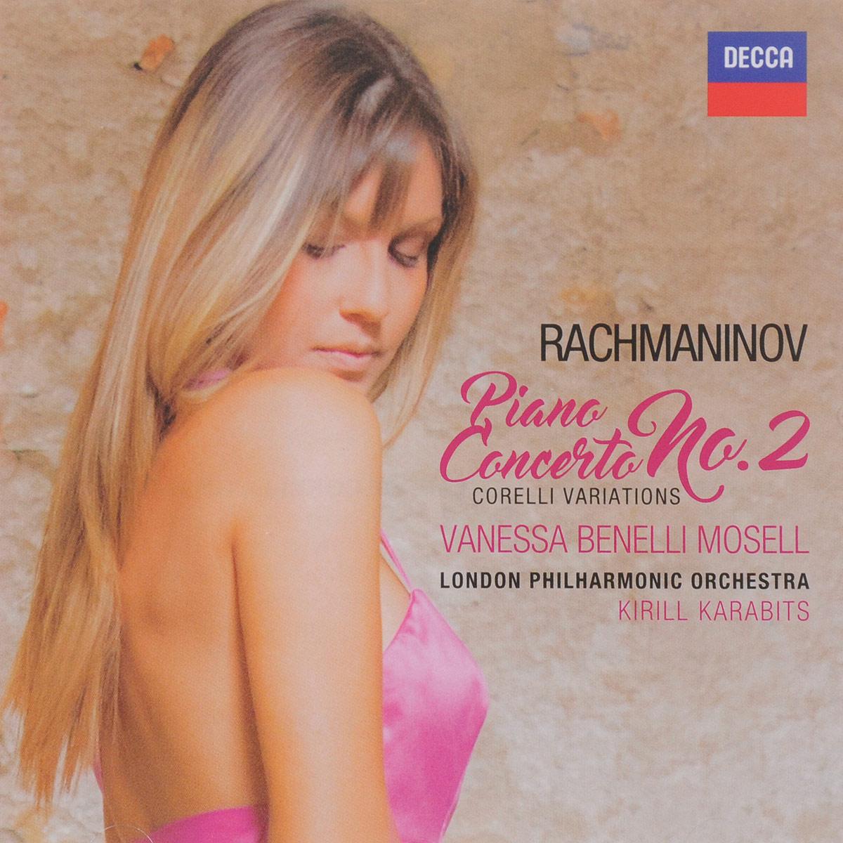 цена на Vanessa Benelli Mosell,London Philharmonic Orchestra,Кирилл Карабитс Vanessa Benelli Mosell. Rachmaninov. Piano Concerto No. 2